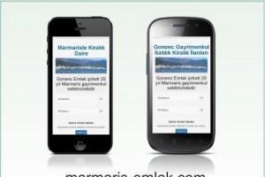 Mobil Uyumlu Emlak Sitesi